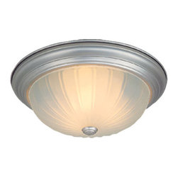Vaxcel Lighting - Vaxcel Lighting CC1751 2 Light Flush Mount Ceiling Fixture - Features: