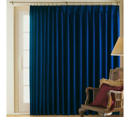 Guest picks let 39 starry night 39 inspire a formal living room for Jcpenney living room curtains