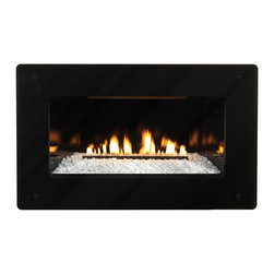 Empire Comfort - Loft Series Vent-Free In-Wall IP Control NG Fireplace, 20k BTU - Includes: