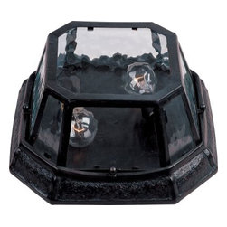 Maxim Lighting - Maxim Lighting 40269WGOB Garden 2-Light Outdoor Ceiling Mount - Features