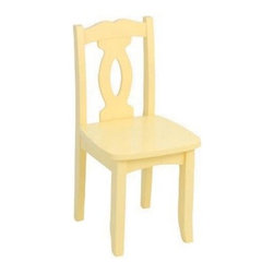 KidKraft Brighton Chair - Buttercup - What We Like About This Childrens ChairThe Buttercup Brighton Chair is a great addition to the Brighton Table or your child's favorite desk or table. Finished in a beautiful yellow finish this chair will make a whimsical addition to any child's room.About KidKraftKidKraft is a leading creator manufacturer and distributor of children's furniture toy gift and room accessory items. KidKraft's headquarters in Dallas Texas serve as the nerve center for the company's design operations and distribution networks. With the company mission emphasizing quality design dependability and competitive pricing KidKraft has consistently experienced double-digit growth. It's a name parents can trust for high-quality safe innovative children's toys and furniture.