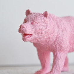 Pretty In Pink Bear By Bubblegum Belles - Here's a fierce grizzly in a pretty pink shade!