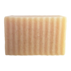 BOSSANOVA - SHAVING BAR 5.5 OZ SOAP - This is a specially designed bar for shaving.  Highly enriched in Avocado oil, Sweet Almond oil, and Aloe Vera, this soap is extremely moisturizing and nourishing to the skin.  Kaolin Clay provides the slip needed for shaving, while a high percentage Castor oil provides a thick and creamy stable lather. Not only will you experience fewer cuts, you can also say good bye to razor burn and dry skin; this bar gives a wonderful shave.
