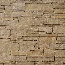 Contemporary Stone Veneer - Pewter Ledge is a stacked natural stone veneer available from The Quarry Mill.