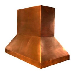 Air Pro 48W in. Classic Chimney Copper Wall Mounted Range Hood - About VMIVMI is based in Redmond, Washington. They manufacturer and distribute kitchen ventilation products including range hoods, blowers, hood fans, wood hoods, copper hoods, and more. VMI has one of the largest selections of blower packs and color options in the industry. Their staff has over 25 years experience in kitchen ventilation products. VMI strives for timeless designs and innovative kitchen ventilation systems carefully attuned to the needs of their clients because they want to contribute to lasting, memorable kitchen designs.