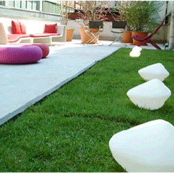 Oluce - Stones Outdoor Garden Lamps by Oluce - Stones by Oluce are a series of decorative outdoor lamps.