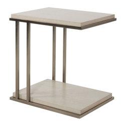 Vanguard Furniture - Vanguard Furniture Phipps End Table W377E-BG - Vanguard Furniture Phipps End Table W377E-BG