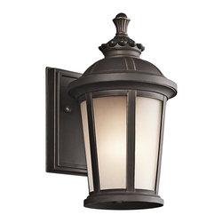 Kichler Lighting - Kichler Lighting KCH-49409RZ Ralston Transitional Outdoor Wall Sconce - Kichler Lighting KCH-49409RZ Ralston Transitional Outdoor Wall Sconce