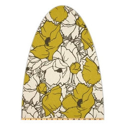 Premium Ironing Board Cover for Lifestyle (Better) Wall-Mount Models ClarUSA - Ironing is one of our most-dreaded household chores. That being said, we think this retro cover might take some of the drudgery out of the task.