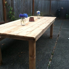 Rustic Dining Tables by Timber & Ore