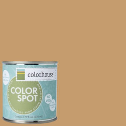 ColorSpot Eggshell Interior Paint Sample, Clay .01, 8-oz - Test color before you paint with the Colorhouse Colorspot 8-oz  paint sample. Made with real paint and in our most popular eggshell finish, Colorhouse paints are 100% acrylic with NO VOCs (volatile organic compounds), NO toxic fumes/HAPs-free, NO reproductive toxins, and NO chemical solvents. Our artist-crafted colors are designed to be easy backdrops for living.