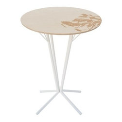"Arktura - Spira 24"" Caf� Table - Note: this item is not able to be cancelled or returned once an order is placed. Features: -Elegant design. -Comes in a variety of colors. -Dimensions: 29"" H x 24"" W."