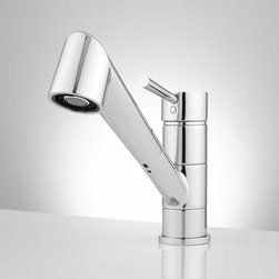 Woma Single Hole Pull Down Kitchen Faucet - The Woma Single Hole Kitchen Faucet delivers style and performance in your home.