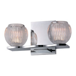 Hudson Valley Lighting - Hudson Valley Lighting 3162 Odem 2 Light Xenon Bathroom Vanity Light - Product Features: