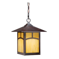 "Vaxcel Lighting - Vaxcel Lighting TL-ODD090 Taliesin 1 Light 12.875"" Outdoor Pendant - Product Features:"