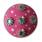 Hot Pink Sparkle Drawer Knob - My daughter has these ones and loves them.