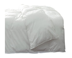 DOWNLITE - Silky Cotton Sateen Pima Down Comforter, White, Twin Xl, Solid - No Pattern - Absolutely stunning to the touch - your bed will be graced with these silky soft clouds of comfort. Featuring Pima cotton paired with a specially woven cotton sateen weave that is extra silky to the touch.