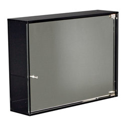 Whitehaus - Whitehaus Collection Aeri 21.75W x 15.75H in. Surface Mount Medicine Cabinet WHA - Shop for Bathroom Cabinets from Hayneedle.com! Featuring a high-quality transparent glass construction the Whitehaus Collection Aeri 21.75W x 15.75H in. Surface Mount Medicine Cabinet WHAEVE01 is a beautiful modern addition to your bathroom. Its mirrored door opens to reveal two shelves for storage and a surface-mount design allows easy installation.About Alfi Trade Inc. A place where beauty quality and service meet at last. Alfi Trade Inc. is a Los Angeles California company that recently merged with Whitehaus Collection in West Haven Connecticut to be their exclusive West Coast distribution center. Whitehaus Collection products transform the most essential rooms in the home: the kitchen and bath into reflections of the homeowners personal style. For over 10 years Whitehaus Collection has been providing people with high-end decorative plumbing fixtures that are beautiful and stand the test of time.