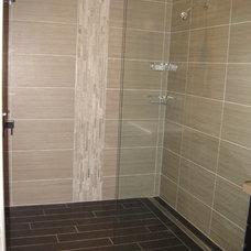 Contemporary Bathroom My master bath