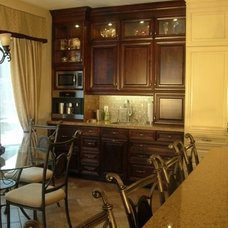 Finished Kitchen Reveal -- Traditional Yellow Stained Cabs - Kitchens Forum - Ga