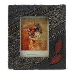 US - 10.25 Inch Bronzehued Picture Frame Falling Leaves Holds 5 x 7 Image - This gorgeous 10.25 Inch Bronzehued Picture Frame Falling Leaves Holds 5 x 7 Image has the finest details and highest quality you will find anywhere! 10.25 Inch Bronzehued Picture Frame Falling Leaves Holds 5 x 7 Image is truly remarkable.