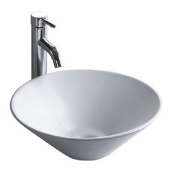 Wells Sinkware - Wells Sinkware 1616 Ceramic Lavatory White - Vitreous china lavatory, Extra smooth surface, Exterior dimensions: 16-7/8 inch by 16-7/8 inch, Limited one-year warranty