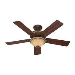 """Hunter Fan Company - 52"""" Aventine Cocoa Ceiling Fan - Aventine - 52"""" Cocoa Ceiling Fan."""
