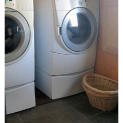 laundry room by WarmlyYours Radiant Heating