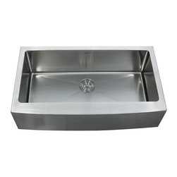 """Kraus KHF200-36 36 inch Farmhouse Single Bowl 16 Guage Stainless Steel Sink - APPLY COUPON CODE """"EDHOUZ50"""" AT CHECKOUT. JUST OUR WAY OF SAYING THANKS."""