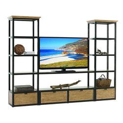 Lexington - Lexington Monterey Sands Camino Real Media/Display Wall - This set includes: