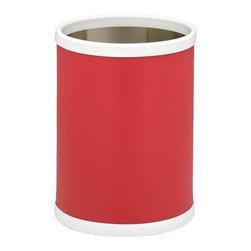 Kraftware - Bartenders Choice Fun Colors 10 in. Round Wastebasket in Red - Made in USA. 10 in. Dia. x 12 in. H (1.5 lbs.)Our Fun Colors Collection features the hottest colors for the season, to provide you with great entertaining items, with up to the minute styling. Great for indoor and outdoor entertaining.