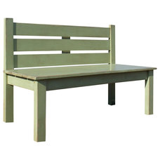 Farmhouse Benches by Fable Porch