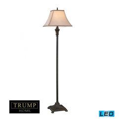 Dimond - One Light Brown Floor Lamp - One Light Brown Floor Lamp