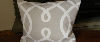 Duralee Print Kidney Pillow Cover from the by SLCdesignsHome