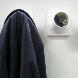 CUBBY ::  COAT HOOK + STORAGE - .
