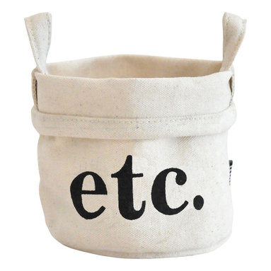 MAIKA - Recycled Canvas Bucket, Etc., Small - AS SEEN ON THE TODAY SHOW
