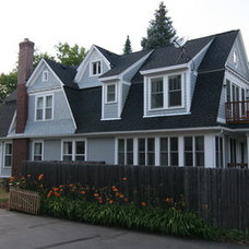 Traditional Exterior Elevation by Archos Architecture & Design, P.A.