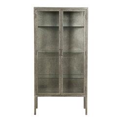 Vanguard Furniture - Vanguard Furniture Smith Metal Apothecary Cabinet P463H-FM - Vanguard Furniture Smith Metal Apothecary Cabinet P463H-FM