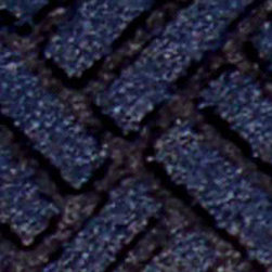 buyMATS Inc. - 2' x 3' Tire Tuff Clean scrape Mat Midnight Blue - Brand new to the commercial matting industry, the durable Tartuffe� Clean Scrape mat provides top-of-the-line scraping performance for any outside entrance settings.