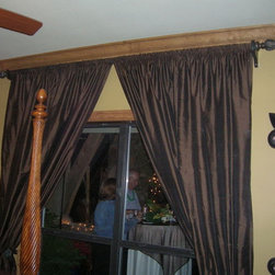 More sumptuous drapery treatments - Amy McNeil Interiors