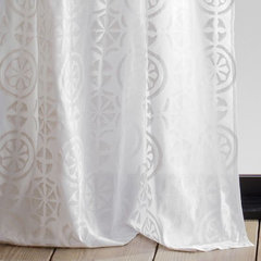 eclectic curtains by West Elm