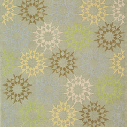 Martha Stewart Living - Martha Stewart Living™ Block Quilt Area Rug - The classic geometrics of an American Country quilt appear refreshingly new in the soft and contemporary Block Quilt. Natural cotton yarns are densely hand-tufted in China to create a loop-pile background and subtle cut-pile motif, enhanced by the muted tonalities of its neutral palette.100% cotton assures lasting quality and appearance.Adds a charming designer look to any decor.Order from our Martha Stewart Collection today.