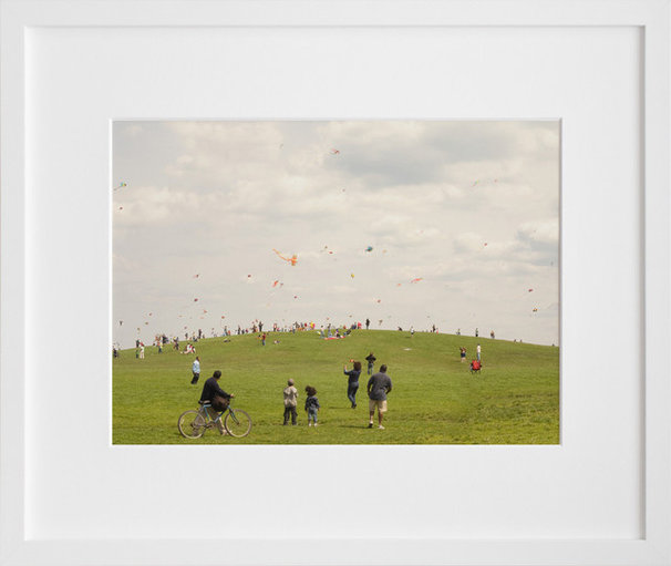Contemporary Artwork Kite Hill print by Paul Octavious