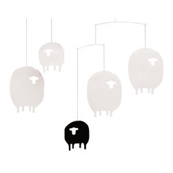 Sheep Mobile - Literally count sheep as you fall asleep with this charming mobile.