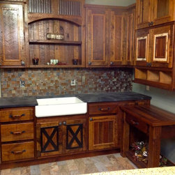 208 Rustic Kitchen Cabinets
