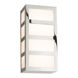 Sonneman Lighting - Sonneman Lighting 2510.35 Capital Wall Sconce - Sonneman Lighting 2510.35 Capital Wall Sconce