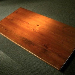 Reclaimed Farm Table With Smooth Grain - Made by www.ecustomfinishes.com