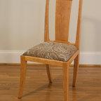 Cherry Desk & Chair -