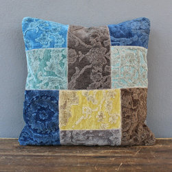 otis pillow – blue - view this item on our website for more information + purchasing availability: http://redinfred.com/shop/category/free-shipping/otis-pillow-blue/