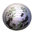 Oriental-Decor - Panda Lantern - Kids love pandas so this lantern would be a great addition to your child's bedroom decor. Hang it from the ceiling and light it from inside to create an instant focal point for the room.
